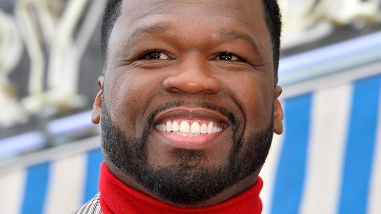 50 Cent at an event