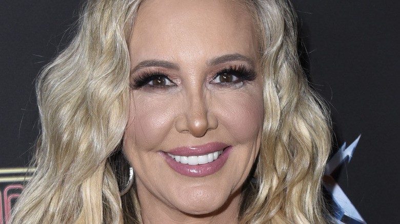 Shannon Storms Beador posing on red carpet