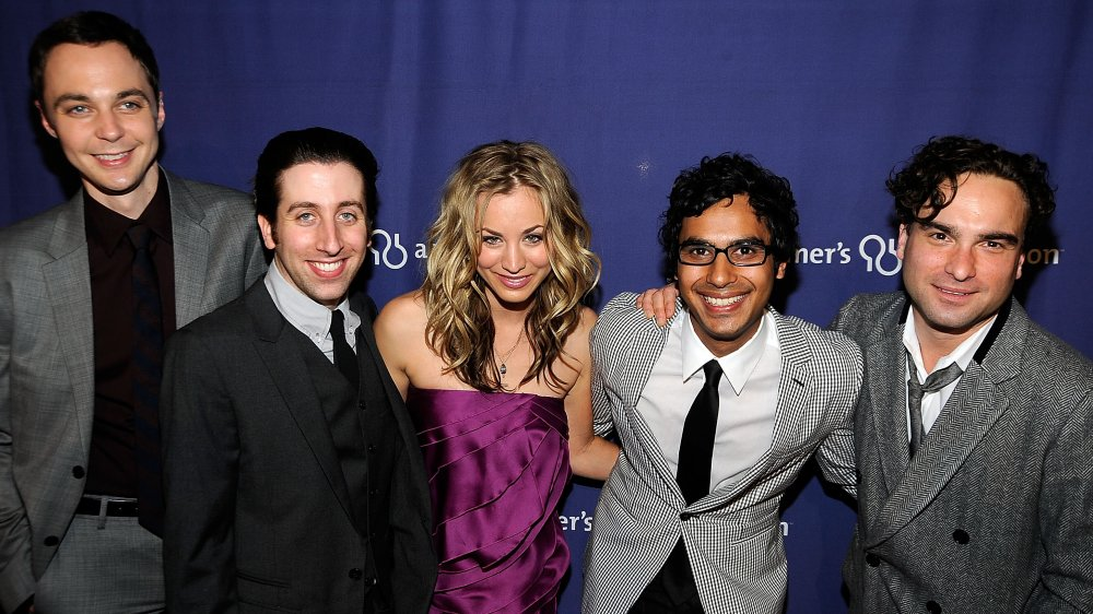 The Big Bang Theory cast at The Alzheimer's Association's 17th Annual A Night At Sardi's