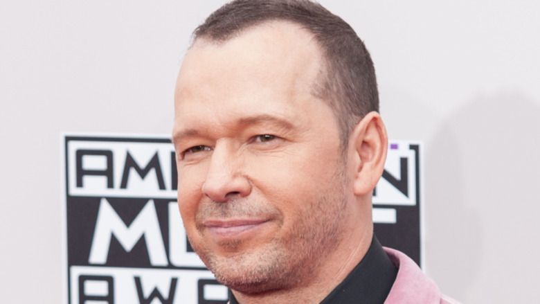 Donnie Wahlberg at an award show