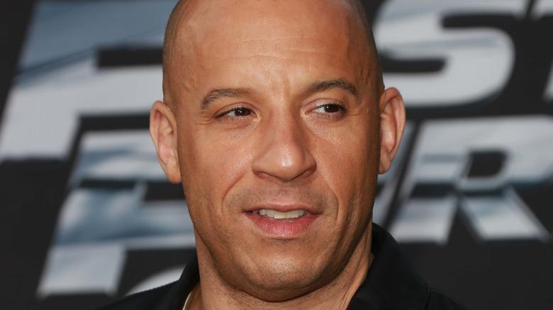 Vin Diesel at a premiere