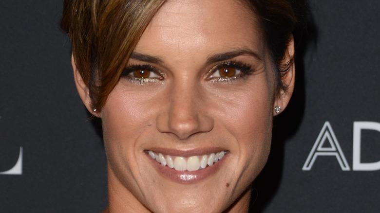 Missy Peregrym, smiling