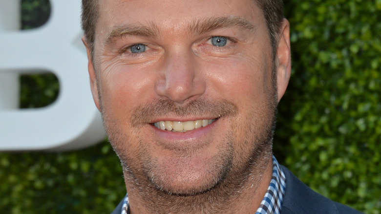 Chris O'Donnell smiling