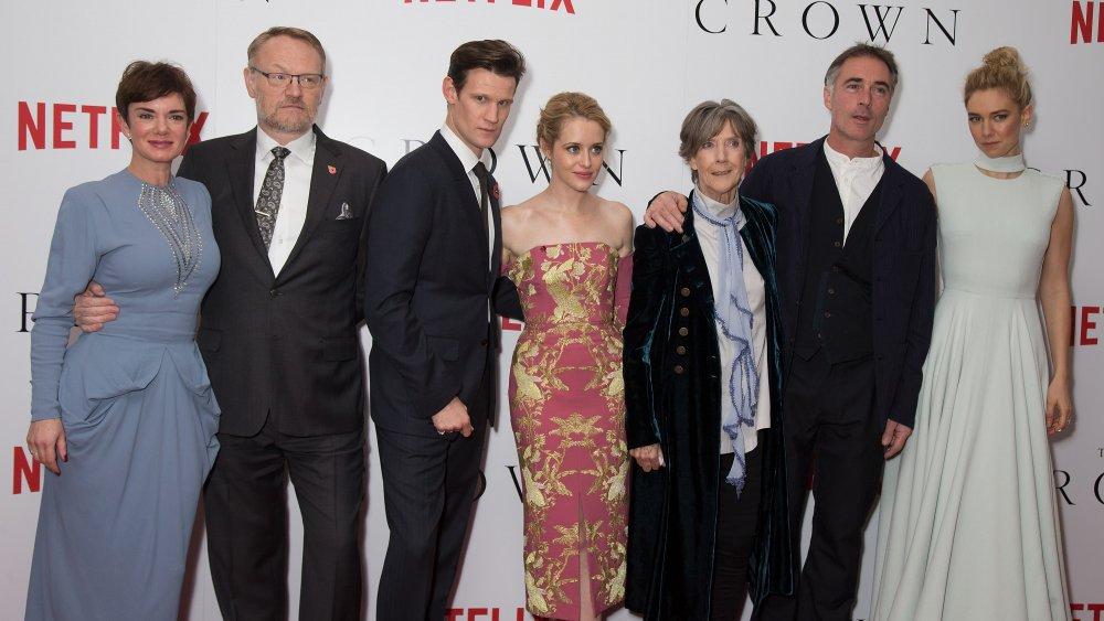 The Crown Season 1 cast