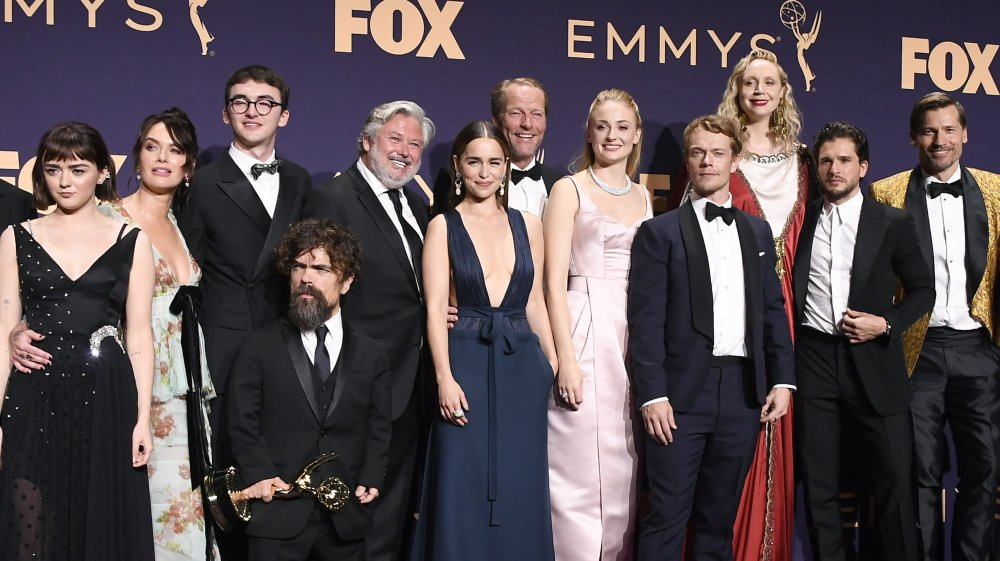 The Game of Thrones cast at the Emmys