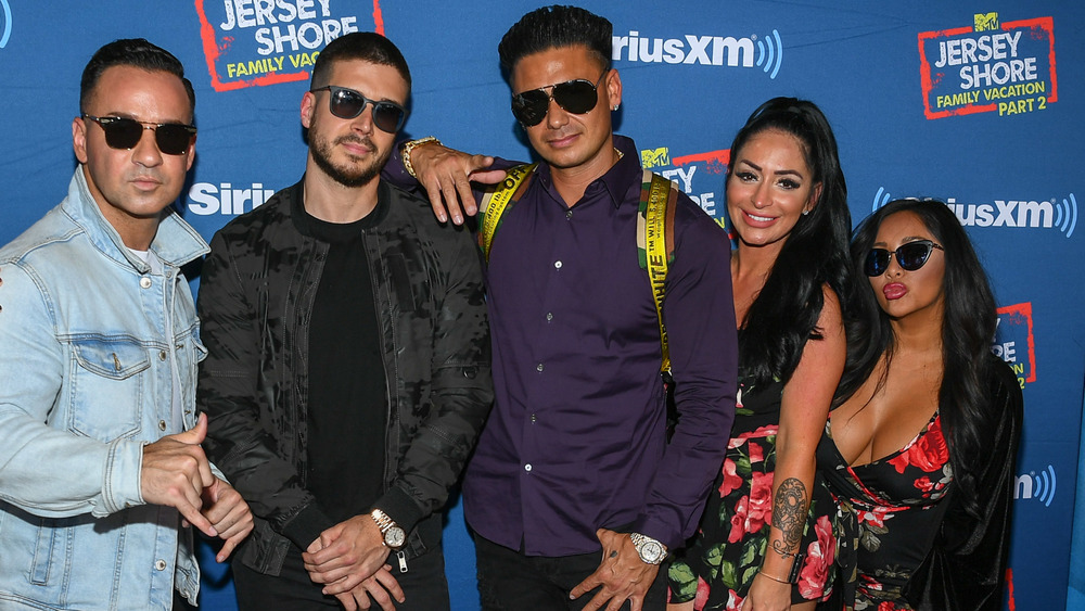 The Jersey Shore cast on red carpet