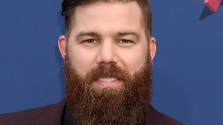 Jordan Davis at the 2018 Academy of Country Music Awards