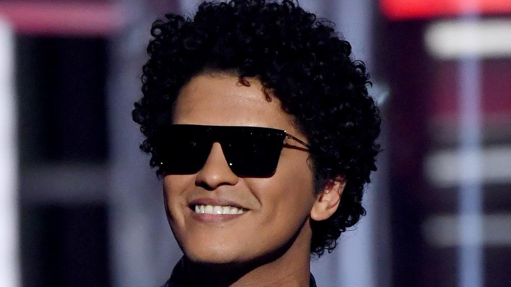 Bruno Mars smiling