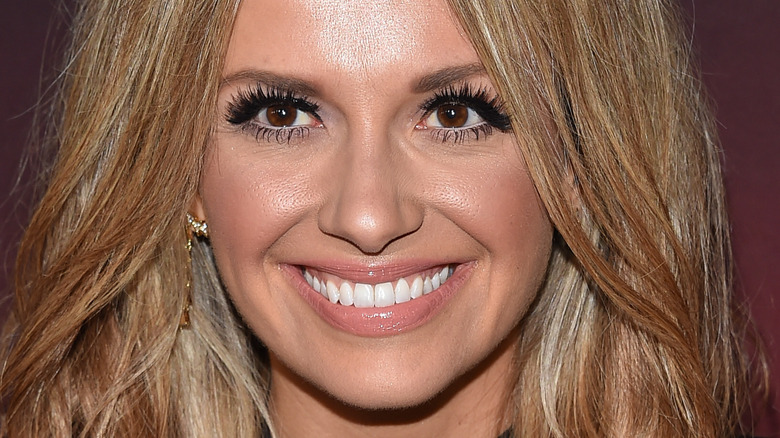 Carly Pearce on the red carpet
