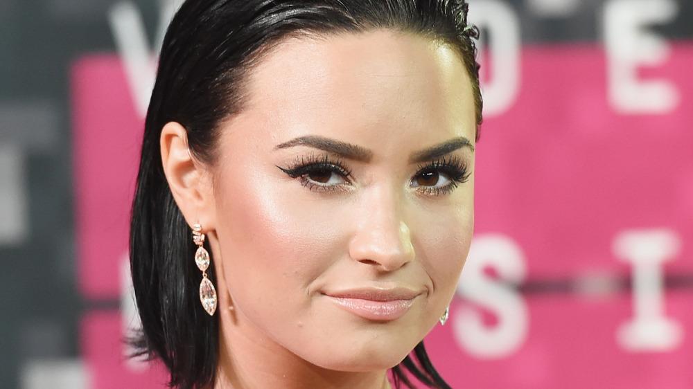 Demi Lovato smile