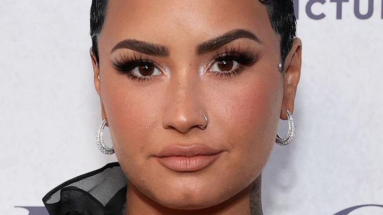 Demi Lovato attends Docuseries event 2021