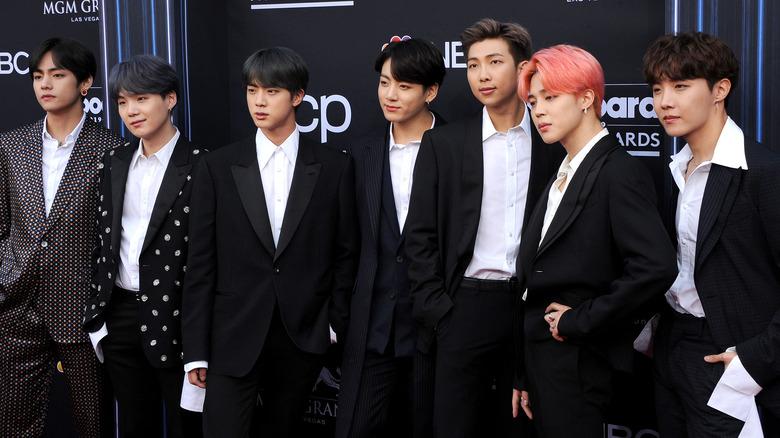 BTS red carpet