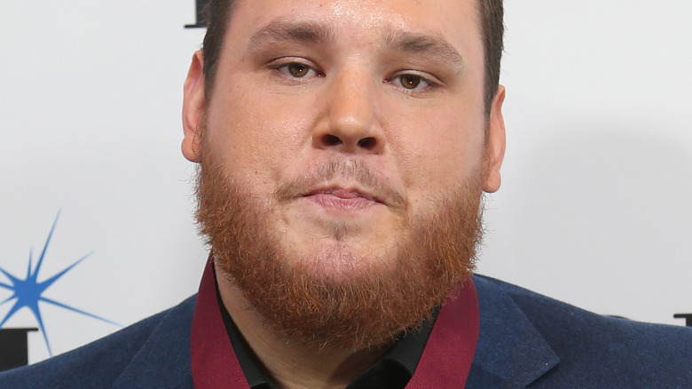 Luke Combs with a beard