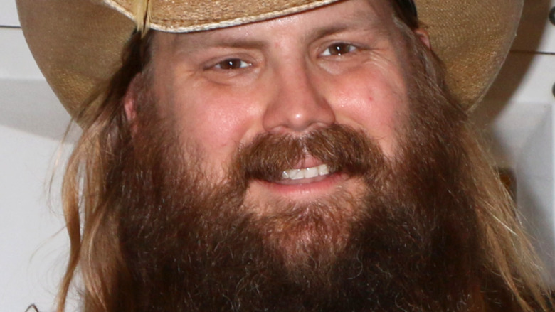 Chris Stapleton smile