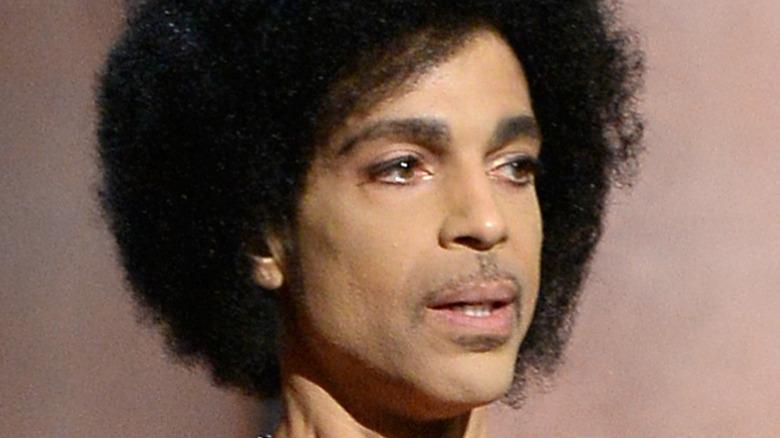 Prince speaking at GRAMMY awards