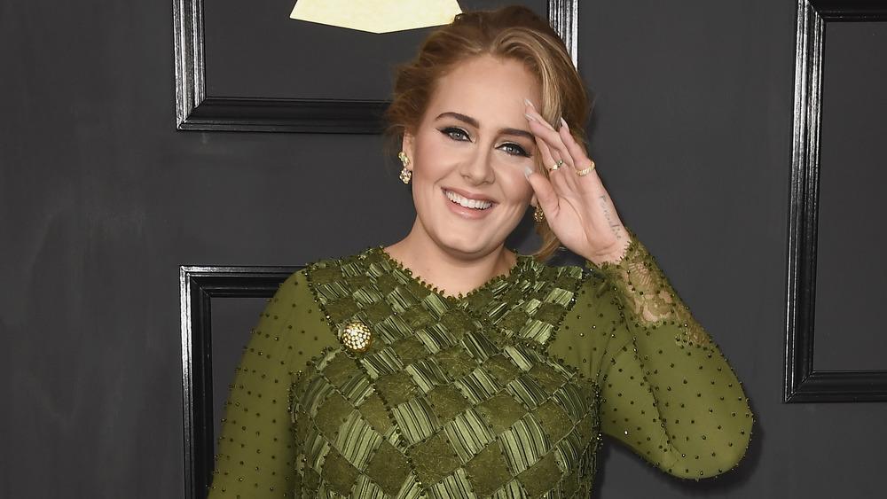 Adele at 59th Grammy Awards