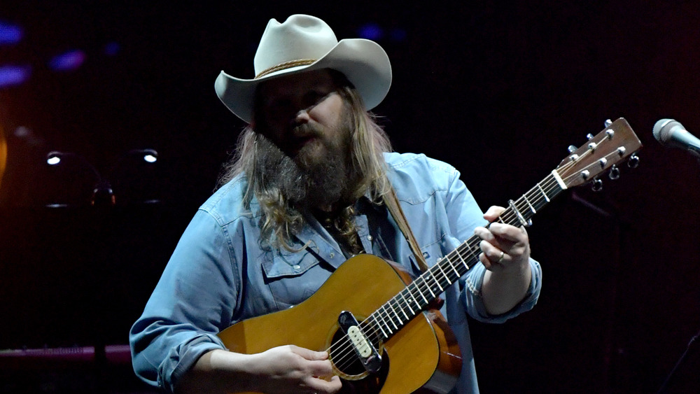 Chris Stapleton performs at All For The Hall in 2020