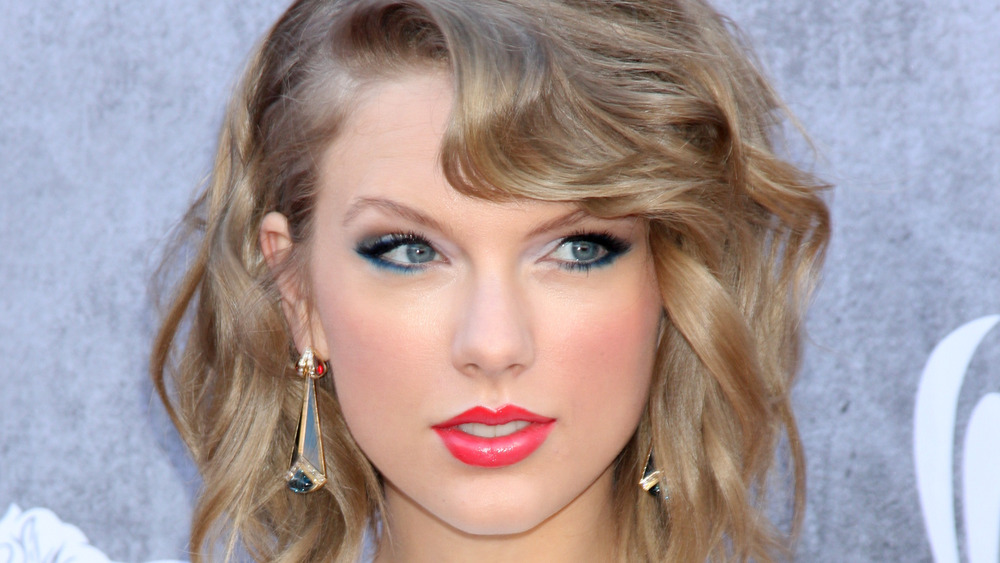 Taylor Swift on a red carpet