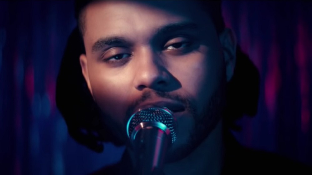 The Weeknd in his Can't Feel My Face video