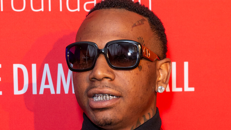 Moneybagg Yo attends 5th Annual Diamond Ball benefiting the Clara Lionel Foundation at Cipriani Wall Street