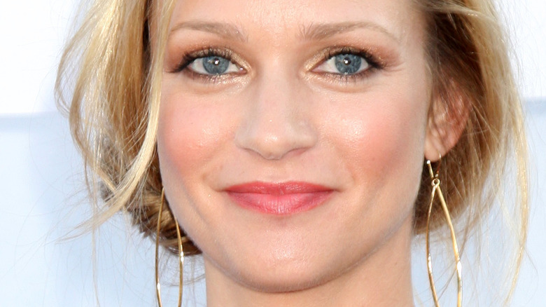 A.J. Cook smiling on red carpet