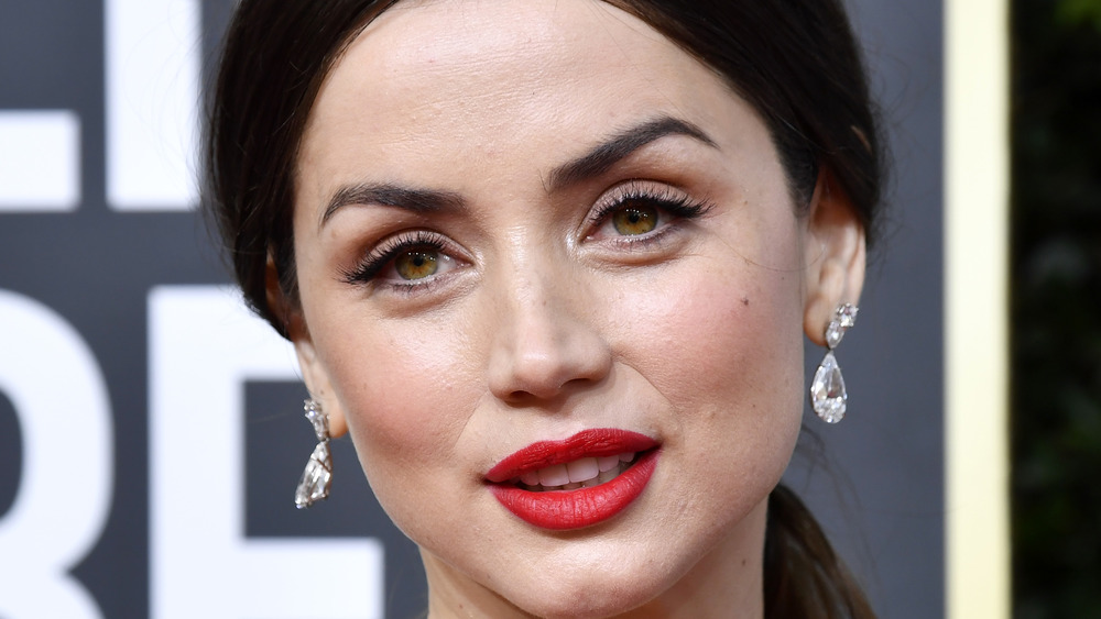 Ana de Armas diamond earrings