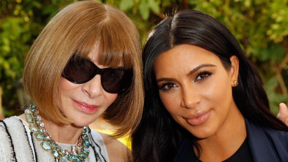 Anna Wintour, Kim Kardashian