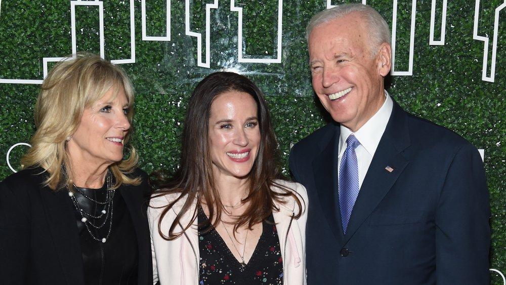 Jill Biden, Ashley Biden, Joe Biden