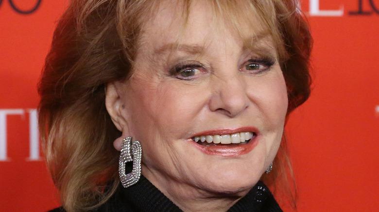 Barbara Walters smile
