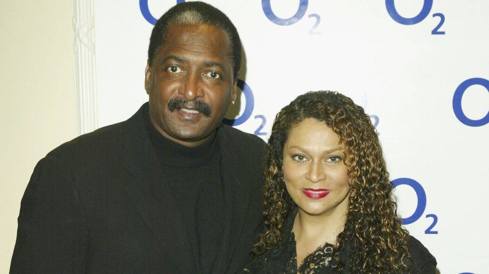 Matthew Knowles and Tina Knowles-Lawson