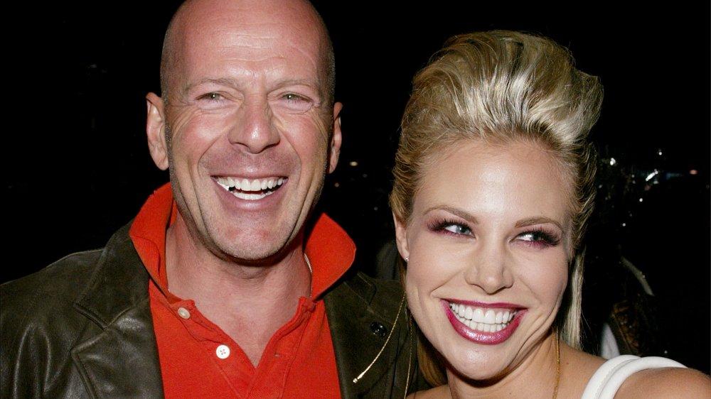 Bruce Willis, Brooke Burns
