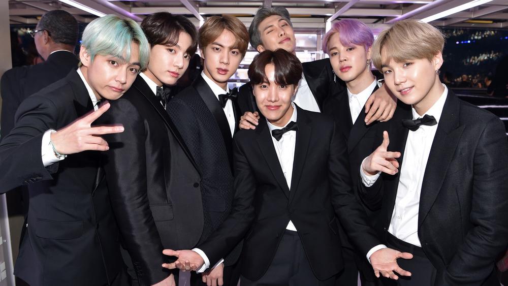 BTS at the 2019 Grammy Awards