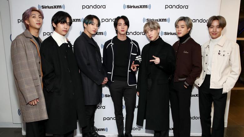 BTS at an event
