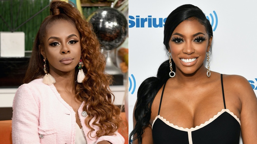 Real Housewives Candiace Dillard and Porsha Williams