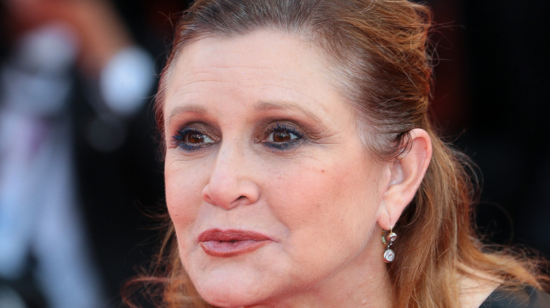 Carrie Fisher smiling