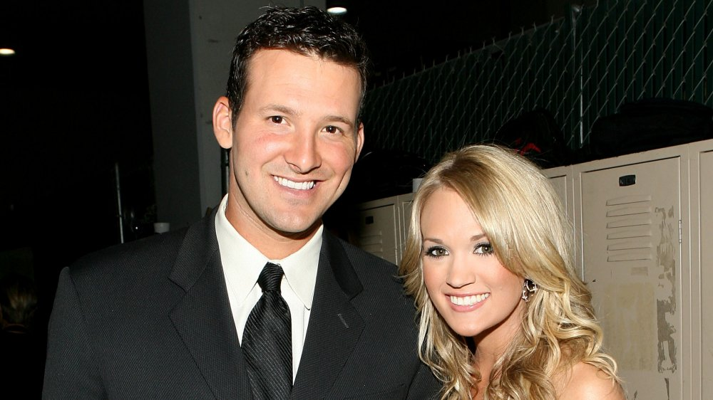 Carrie Underwood and Tony Romo