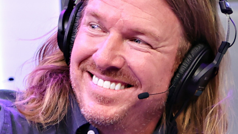 Chip Gaines at a SiriusXM event in July 2021