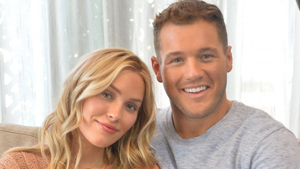 Cassie Randolph (L) and Colton Underwood attend the 2019 MTV Movie and TV Awards