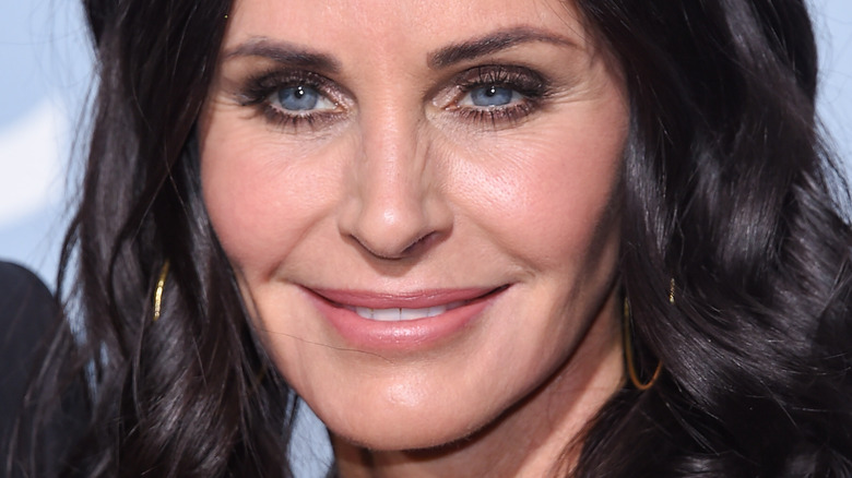 Courtney Cox on the red carpet