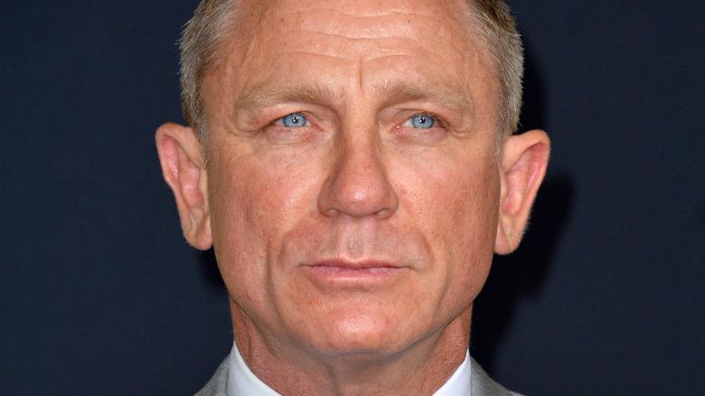 "Daniel Craig at a 2019 ""Knives Out"" premiere"