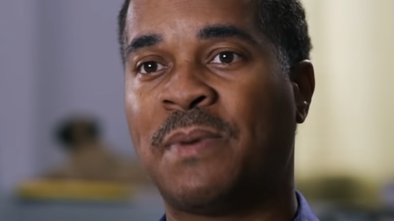 Deon Derrico during a confessional