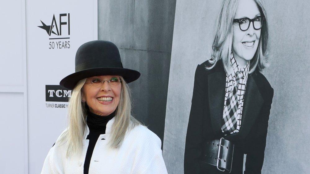 Diane Keaton at the American Film Institute's 45th Life Achievement Award Gala Tribute to Diane Keaton