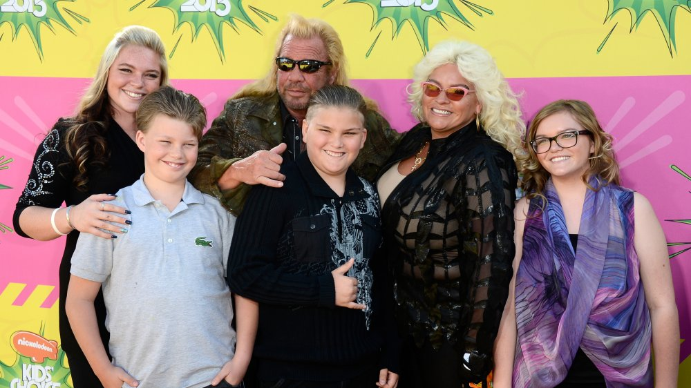 """Duane Lee """"Dog"""" Chapman and his family"""