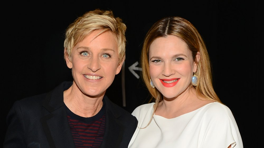 Ellen DeGeneres and Drew Barrymore