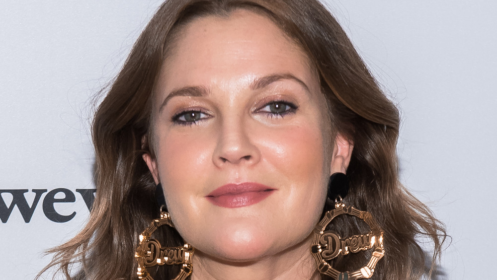 Drew Barrymore at a red carpet event
