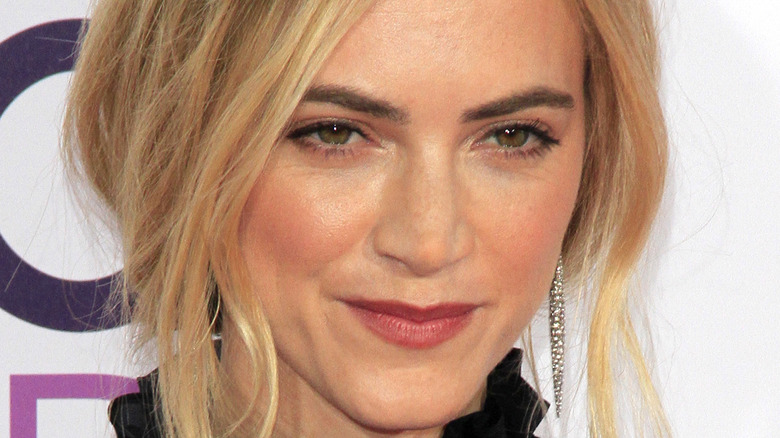 Emily Wickersham on the red carpet of the People's Choice Awards 2017