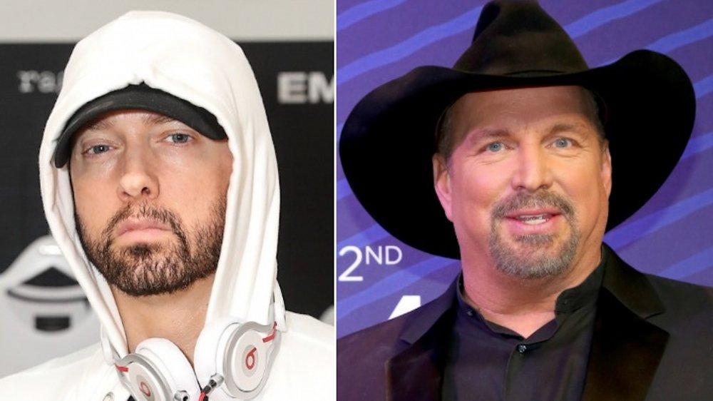 Eminem and Garth Brooks