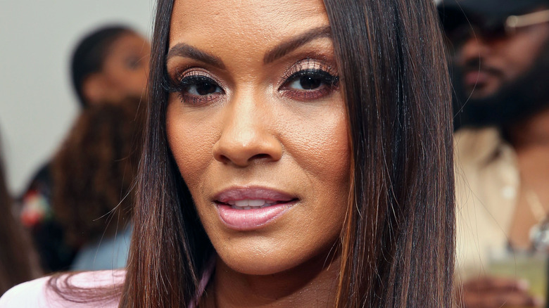 Evelyn Lozada at the Classy Girl Wardrobe Sip & Shop event in 2019