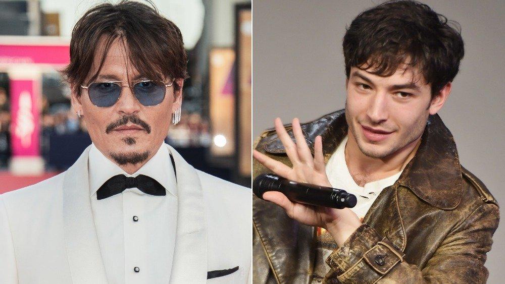 Johnny Depp, Ezra Miller