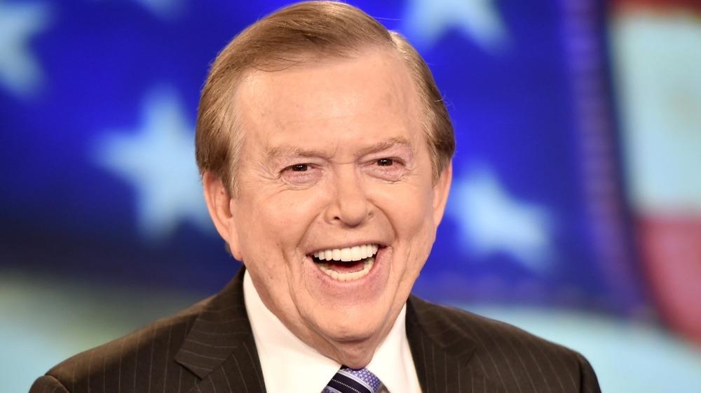 Lou Dobbs laughing